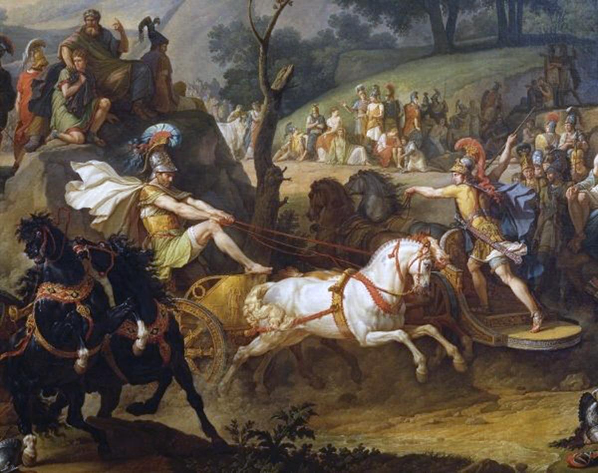patroclus funeral